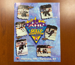 1998 AHL All-Star Classic Skills Competition Program
