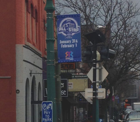 2016 Toyota AHL All-Star Classic Street Pole Banner