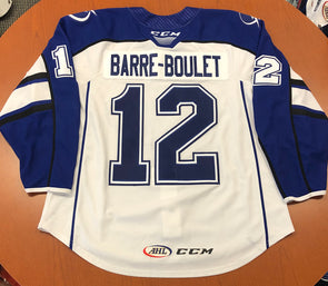 #12 Alex Barre-Boulet White Jersey - 2019-20