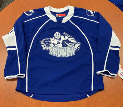 Syracuse Crunch Adult Replica Jersey - Blue