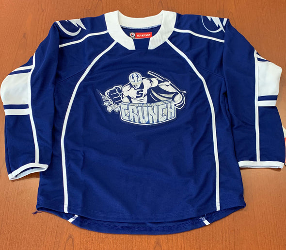 Syracuse Crunch Youth Replica Jersey - BLUE