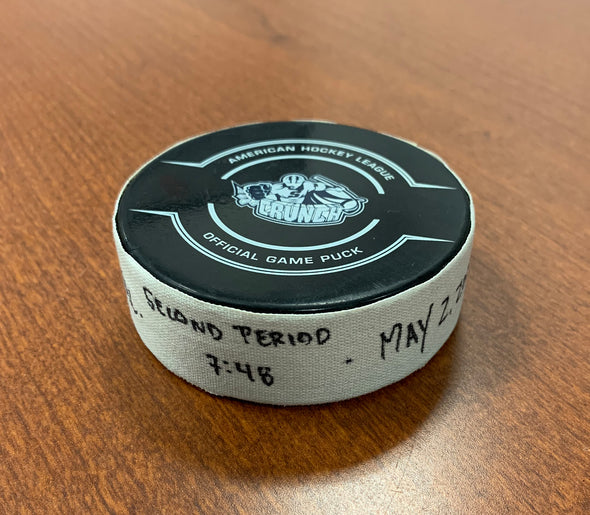 Goal Puck - #55 Andreas Borgman - May 2, 2021