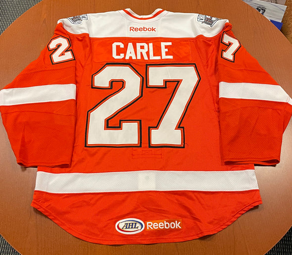 #27 Mathieu Carle Orange Jersey - 2011-12