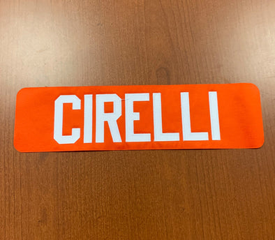 #9 Anthony Cirelli Name Bar