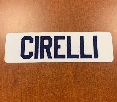 #9 Anthony Cirelli Name Bar - White Jersey