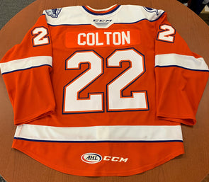 #22 Ross Colton Orange Jersey -2019-20
