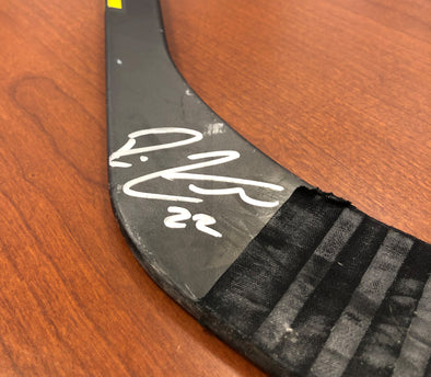 #22 Ross Colton Autographed Game-Used Stick - 2019-20