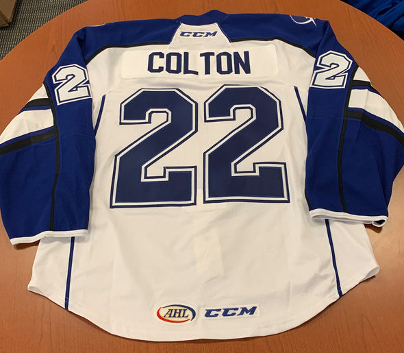 #22 Ross Colton White Jersey - 2017-18