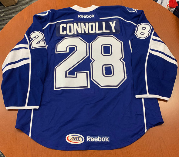 #28 Brett Connolly Blue Jersey - 2013 Calder Cup Finals