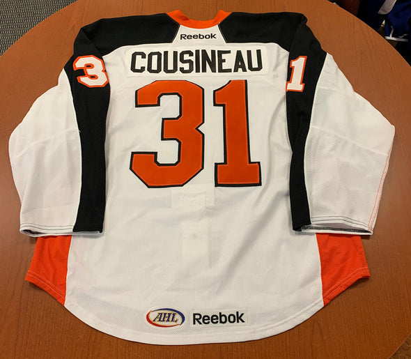 #31 Marco Cousineau Warmup Jersey - 2011-12