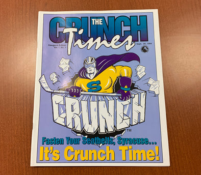 Crunch Times Volume 1 Issue 1 It's Crunch Time - 1994-95