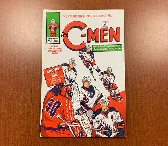 Crunch Times Volume 11 Issue 2 The C-Men - 2006-07