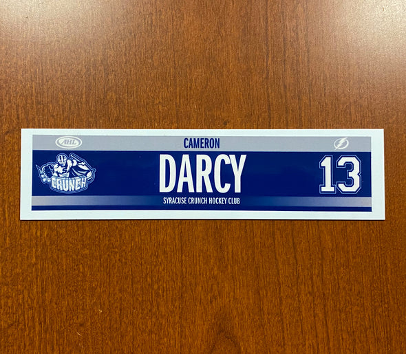 #13 Cameron Darcy Road Nameplate - 2015-16