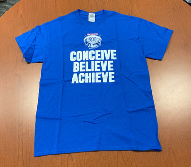 Dome Game Tee - Conceive, Believe, Achieve