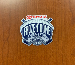 Toyota Frozen Dome Classic Jersey Patch - November 22, 2014
