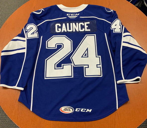 #24 Cameron Gaunce Blue Jersey - with 'A' - 2019-20