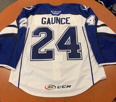 #24 Cameron Gaunce White Jersey - 2018-19