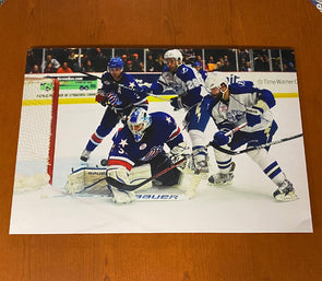 #3 Radko Gudas & #28 Brett Connolly Thinwrap 20x30 Photo