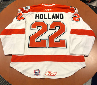 #22 Peter Holland White SYR Jersey - 2010-11