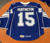 #15 Jimmy Huntington Blue Jersey - 2019-20