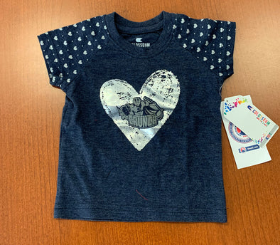 Infant & Toddler Tee - Hearts