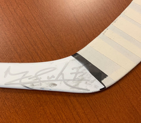 #7 Mathieu Joseph Autographed Game-Used Stick - 2019-20