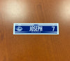 #7 Mathieu Joseph Road Nameplate - 2017-18 & 2019-20