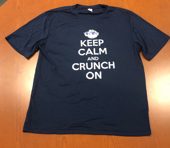 Keep Calm and Crunch On Tee