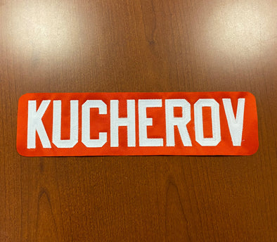 #86 Nikita Kucherov Orange Name Bar