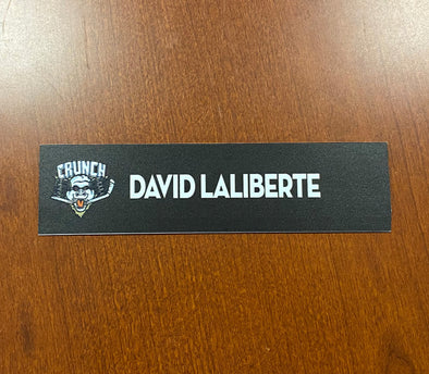 David Laliberte Home Nameplate - 2010-11