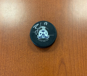#17 Brian Loney 25th Season Game Puck - SIGNED