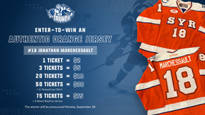 #18 Jonathan Marchessault Orange Jersey Raffle - 20 for $10