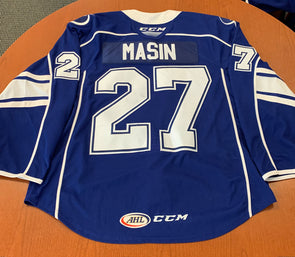 #27 Dominik Masin Blue Jersey - 2019-20