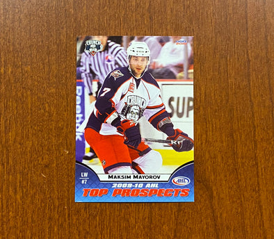 #7 Maksim Mayorov Trading Card - 2009-10