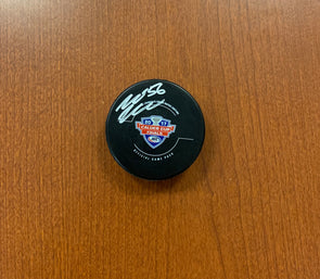 #56 Mike McKenna 2017 Calder Cup Finals Game Puck - SIGNED