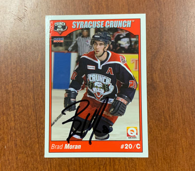 #20 Brad Moran Autographed Trading Card - 2004-05