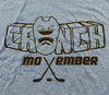 Movember Shirt - Blue