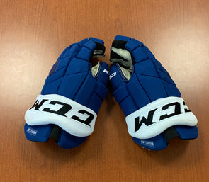 #19 Chris Mueller Game Used Gloves - 2019-20