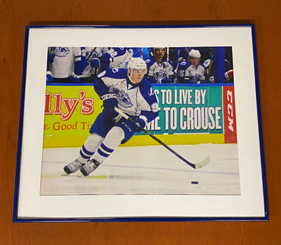 #90 Vladislav Namestnikov 20.5x24.5 Framed Photo