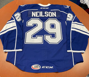 #29 Eric Neilson Authentic Blue Jersey - No Toyota Patch