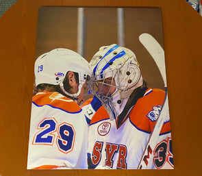 #29 Eric Neilson & #35 Kristers Gudlevskis Thinwrap 30x24 Photo