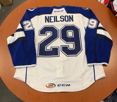 #29 Eric Neilson White Jersey - Authentic