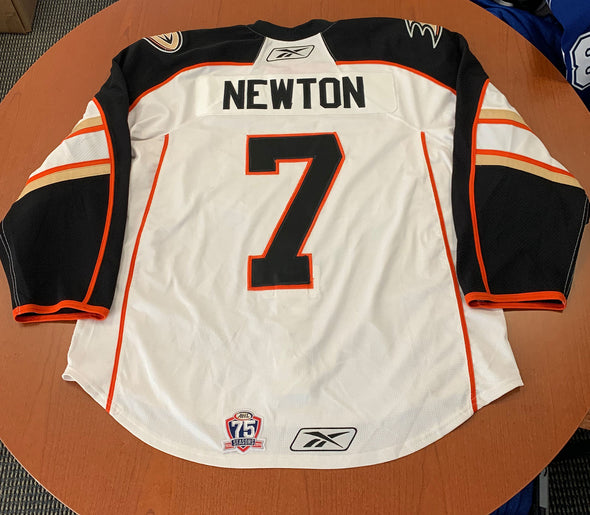 #7 Jake Newton White Jersey - 2010-11