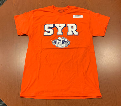 Orange Short Sleeve Shirt