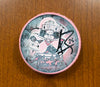 #25 Sean Zimmerman Autographed Pink in the Rink Souvenir Puck - 2011-12