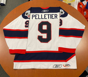 #9 Pascal Pelletier White Jersey - 2009-10