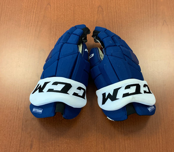 #19 Chris Mueller Game-Used Gloves - 2019-20