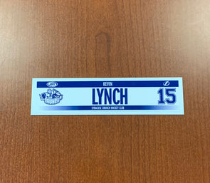 #15 Kevin Lynch Home Nameplate - 2016-17