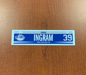 #39 Connor Ingram Road Nameplate - 2017-19