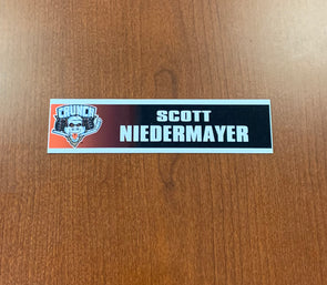 Scott Niedermayer Nameplate - 2010-11
